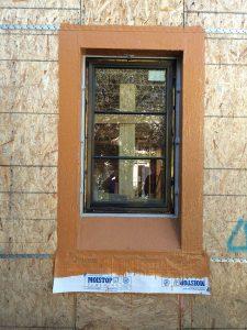 Silicon Waterproofing around windows